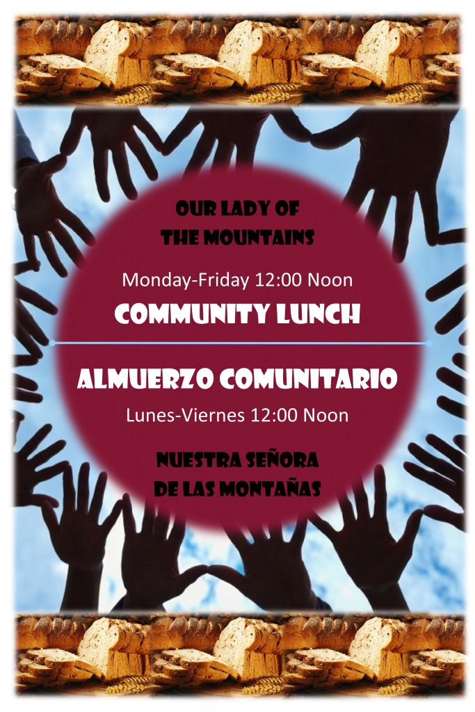Community Lunch Poster